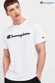 חולצת טי שלChampion עם לוגו