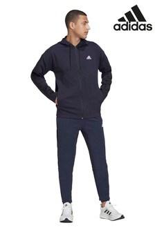 adidas Navy Rib Tracksuit