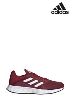 Красные кроссовки для бега adidias Duramo SL