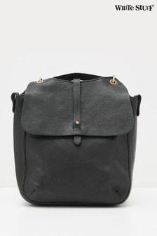 White Stuff Black Aspen Convertible Backpack