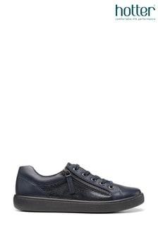 Hotter Chase Flache Schuhe mit Reißverschluss