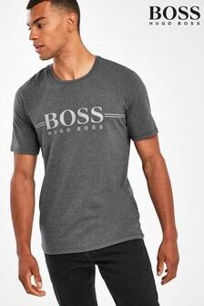 BOSS Grey Urban Logo T-Shirt