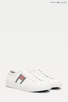נעלי ספורטמעור שלTommy Hilfiger דגםCorporate בלבן