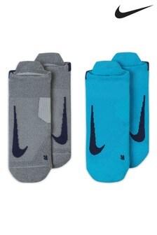 Pack de2 pares de calcetines invisibles para correr Multiplier de Nike