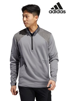 adidas Golf Grey Cold Ready 1/4 Zip Top