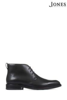 Jones Bootmaker Black Dartmouth Leather Chukka Boots