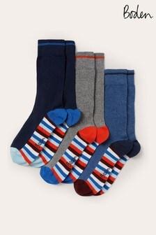 Boden Signature Block Pack Favourite Socks