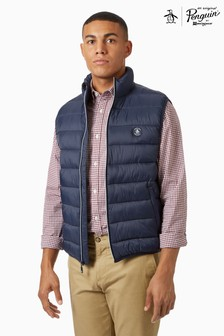 Original Penguin® Blue Lightweight Filled Jacket