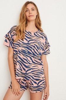 Cotton Short Set Pyjamas (484347)   $25