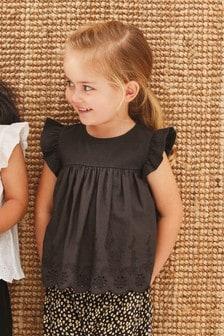 前編織後平織女裝上衣 (3個月至7歲)