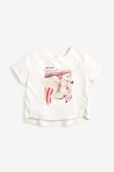 Flippy Sequin Unicorn T-Shirt (3-16yrs)