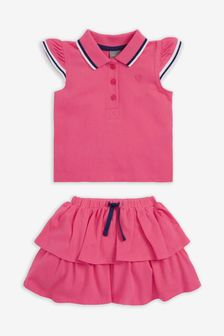 Polo Top And Skirt Set (3mths-7yrs)