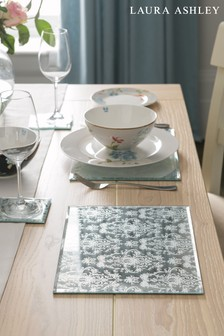 Set of 2 Laura Ashley Josette Mirrored Placemats