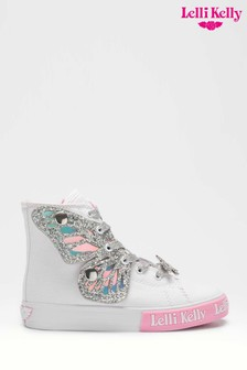 Lelli Kelly Fairy Wings Hi Top Trainers