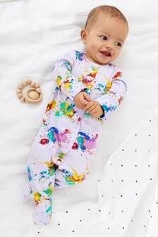 Пижама с принтом (0-2 года)