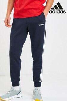 adidas Essentials 三條紋刷毛運動褲
