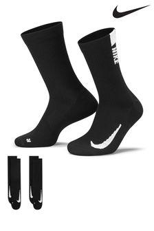 Nike Multiplier Crew Socks 2 Pack