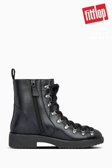 FitFlop™ Black Skandi Hiker Ankle Boots
