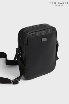 Ted Baker Paltro有紋理人造皮輕便旅行袋
