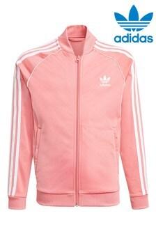 Розовая олимпийка adidas Originals Suprestar