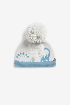 Knitted Pom Hat (Younger)
