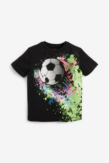 Short Sleeve Football T-shirt (3-16yrs) (486688)   $10 - $18