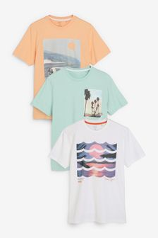 T-Shirts im 3er-Pack