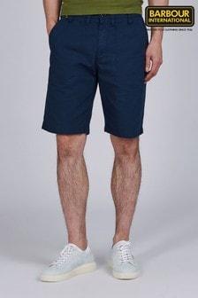 Barbour® International Blue Patch Pocket Shorts