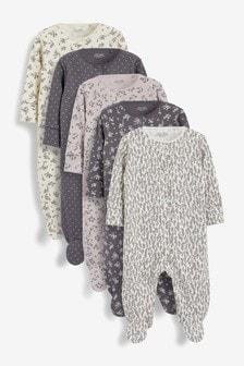 מארז 5 חליפות שינה (גילאי 0 עד 2)