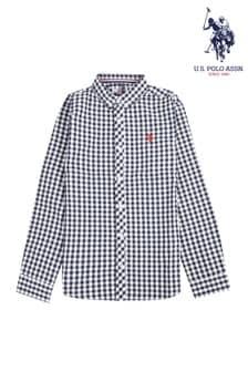 Рубашка из поплина с длинными рукавами U.S. Polo Assn.