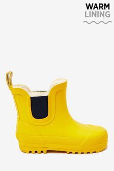 Warm Lined Ankle Wellies