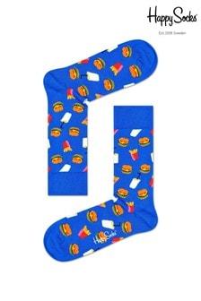 Happy Socks Mens Hamburger Socks