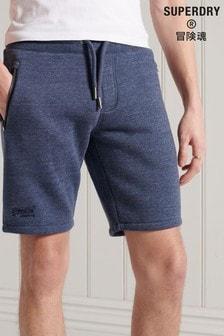 Superdry Orange Label Classic Logo Jersey Shorts