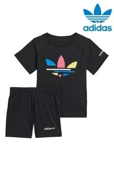 adidas Originals Infant Adicolour Shorts and T-Shirt Set