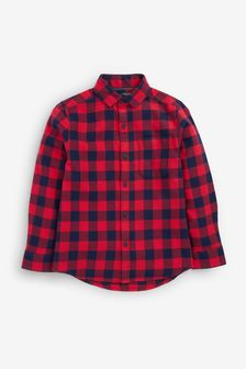 Buffalo Check Long Sleeve Shirt (3-16yrs)