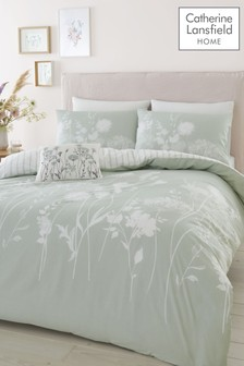 Catherine Lansfield Meadowsweet Duvet Cover And Pillowcase Set (488536) | $21 - $35
