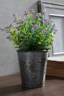 Artificial Floral Tin
