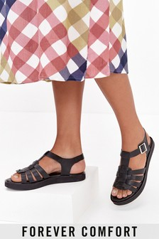 Sandále na platforme Forever Comfort® Fisherman