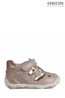 Розовые кроссовки для младших девочек Geox New Balù