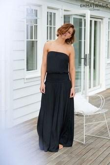 שמלת סאטן של Emma Willis