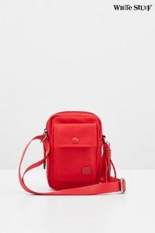 White Stuff Red Willow Nylon Phone Bag