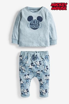 Mickey Mouse T-Shirt And Joggers Set (0mths-2yrs)