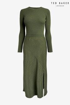 Ted Baker Joowani Long Sleeve Knit Mockable Dress