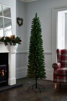 6ft Slim Forest Pine Christmas Tree (491666)   $86