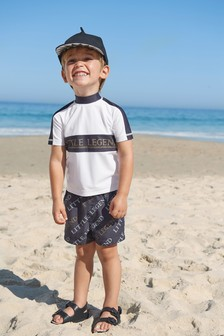 Rash Vest And Shorts Set (3mths-7yrs)