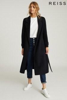 Reiss LeahLanger Mantel aus Wollmischung