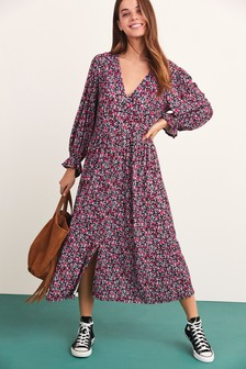 Maternity/Nursing Floral Dress