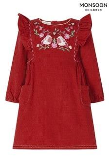 Детское вельветовое платье Monsoon Robin
