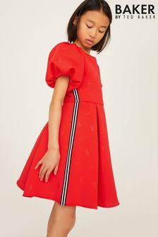 Vestido rojo de Baker by Ted Baker