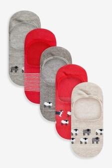Пять пар невидимых носков